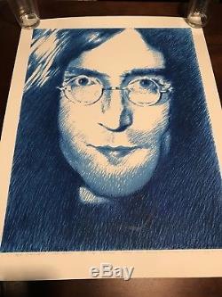 Stanley Mouse John Lennon Beatles Art Print Poster Signed Numbered Grateful Dead
