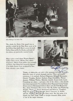 Stunning 8.5 x 11 Beatles John Lennon, George Harrison, Ringo Starr autographs