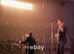 THE BEATLES 1966 LA DODGER STADIUM TICKET PSA GRADE 1 JOHN LENNON McCARTNEY