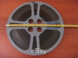 THE BEATLES Abbey Road 16mm FILM Movie on 2 REELS Part of College Triple Feature
