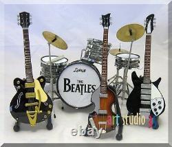 THE BEATLES Miniature Set John Lennon, Ringo Starr, Paul, George