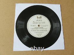 THE BEATLES Pantomime Fourth Chistmas Record 7 FLEXI DISC WITH FAN CLUB INSERT