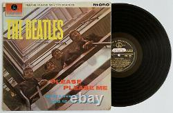 THE BEATLES UK Promo 1st Press PLEASE PLEASE ME LP with JOHN LENNON HANDWRITING