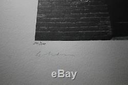 The BEATLES John Lennon Rock and Roll Hand Signed Yoko Ono Art Print Lithograph