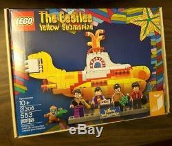The BEATLES Yellow Submarine Lego IDEAS 21306 -New withminor marking