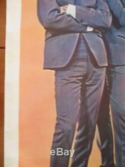 The Beatles 1964 Fan Club Giant Large Promo Poster 42x58 Life Size John Lennon
