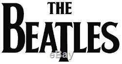 The Beatles Black & White Umbrellas 24x36 Art Canvas John Lennon Paul McCartney