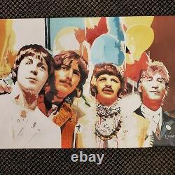 The Beatles Hand Painted Original Oil Painting paul mccartney john lennon ringo