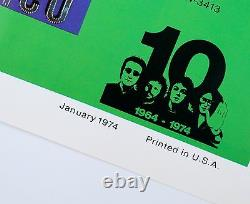 The Beatles Huge Original 1974 Promo 5 Poster Set Apple Capitol John Lennon Mint