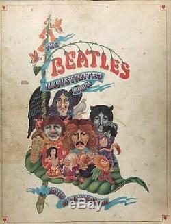 The Beatles Illustrated Lyrics Inscribed by John Lennon to his Son Julian 1969