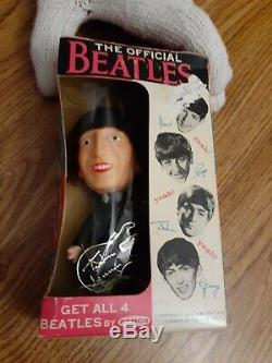 The Beatles John Lennon 1964 Remco doll in near perfect shape with original box US