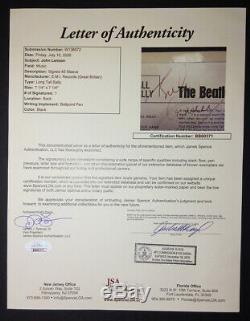 The Beatles / John Lennon / Authentic Signed JSA Authentic Autograph / Excellent