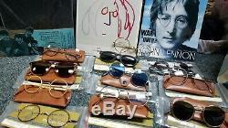 The Beatles John Lennon Collection Eyewear Glasses LOT 11pcs