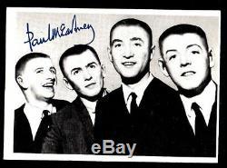 The Beatles / John Lennon / Genuine Hair / Photo & Towel Piece / Coa / Loa