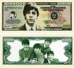 The Beatles / John Lennon Genuine Hand-signed By Paul Mccartney