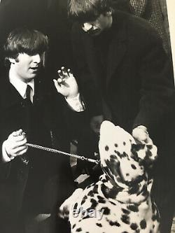 The Beatles John Lennon Original Photo By Ken Regan Ringo Starr Ed Sullivan 1964