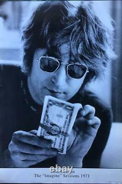 The Beatles John Lennon The Imagine Sessions 1971 UK Import Poster 23.5 x 35