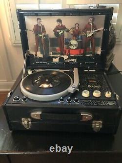 The Beatles Pick Up CD Player Radio John Lennon Paul McCartney George Harrison