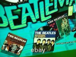 The Beatles Pinball Machine Translite Art John Lennon George Harrison Paul Ringo