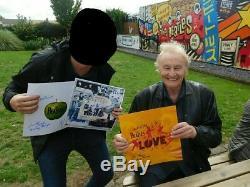The Beatles Related Lennon Quarrymen paul mccartney John lennon Signed vinyl