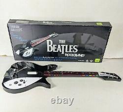 The Beatles Rockband John Lennon Rickenbacker 325 Wireless Guitar Xbox 360 Game