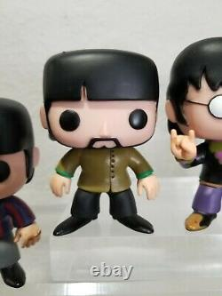The Beatles Set Funko POP John Lennon Paul McCartney Ringo George 27 28 29 30