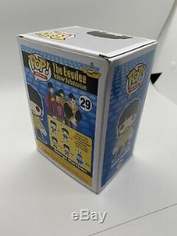 The Beatles Set Funko POP John Lennon Paul McCartney Ringo George Blue Meanie