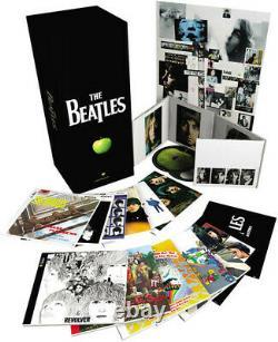 The Beatles Stereo Box Set New CD Oversize Item Spilt, Bonus DVD
