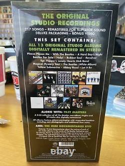 The Beatles Stereo CD Box Set 2009 USA REMASTERED SEALED