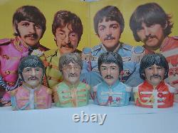 The Beatles. Toby jugs. 1960s. Sgt Pepper. Beatle figures. CD. John Lennon. LP. Record