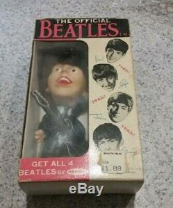 The Beatles Vintage Beatles Remco Doll with Original Box 1964 PAUL McCARTNEY