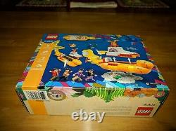 The Beatles Yellow Submarine 21306 New Sealed & Retired LEGO Ideas (553 pieces)