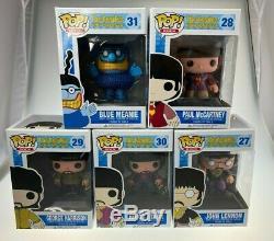 The Beatles Yellow Submarine Funko Pop Paul McCartney John Lennon Blue Meanie