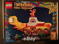 The Beatles Yellow Submarine Lego 21306 New, Factory Sealed