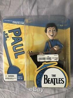 The beatles McFarlane action figures John Lennon Paul McCartney George Harrison
