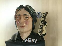 Toby jug. Character jug. John Lennon. Jug. 13. Sgt pepper. Beatles. Not Bobblehead
