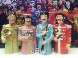 Toby jug. The Beatles. Music. LP. Sgt pepper. Record. Christmas gift. John lennon
