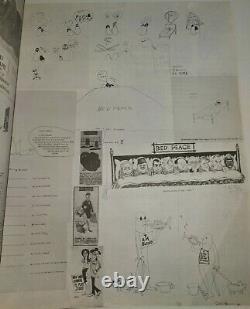 VINTAGE 1971 THIS IS NOT HERE Art Exhibit Program YOKO ONO JOHN LENNON Beatles