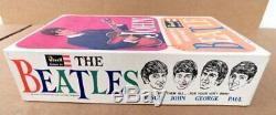 Vintage 1960's Beatles John Lennon Revell Model Kit Sealed In Bag