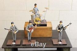 Vintage 1991 Beatles Hamilton Figures Dolls John Lennon Paul Ringo George EXC