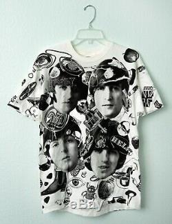 Vintage! 1991 The Beatles! T-shirt Size Large (42-44) Mint! Never Worn