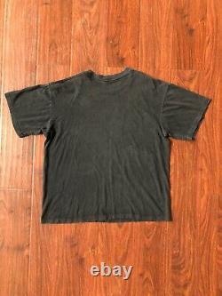 Vintage 1994 John Lennon T-Shirt Black Size XL The Beatles Portrait 90s