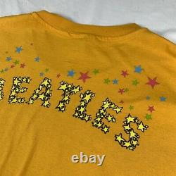 Vintage 90s The Beatles Magical Mystery All Over Print Shirt Single stitch band
