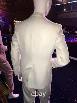 Vintage Beatles John Lennon White Suit Extremely Rare D. A. Millings & Son