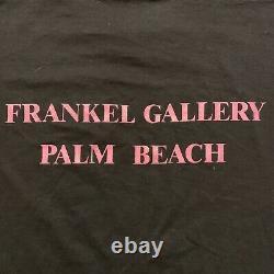 Vintage John Lennon Shirt 80s Art Frankel Gallery Bunny Rabbit Sex The Beatles L