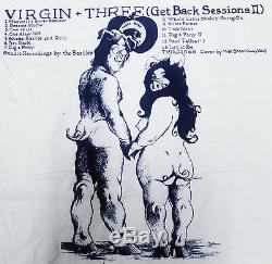 Vintage John Lennon & Yoko Ono Two Virgins The Beatles Rock Tour Concert T-shirt