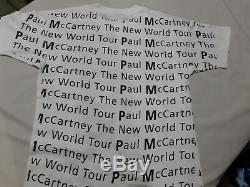Vintage Paul Mccartney Allover shirt, Vtg The beatles Allover shirt