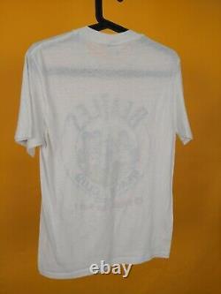 Vintage The Beatles 1987 beach club John Lennon T-shirt 80s Rare Tee large
