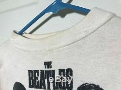 Vintage original Beatles shirt 1960s NEMS ENTERPRISE LTD 1963 John Lennon Rare