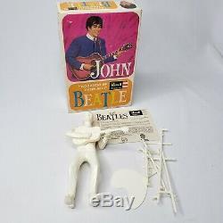 Vtg 1964 Revell Beatles John Lennon 1/8 Plastic Assembled Unpainted Figure